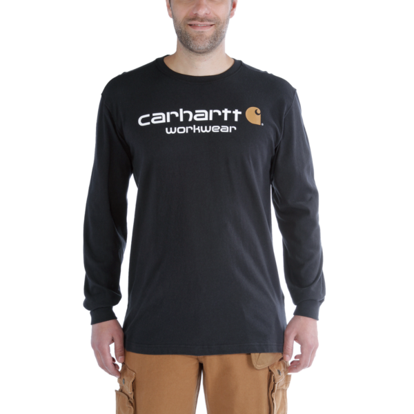 Carhartt - MADDOCK CORE LOGO T-SHIRT L/S