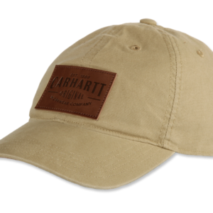 Carhartt - RIGBY STRETCH FIT LEATHERETTE PATCH CAP