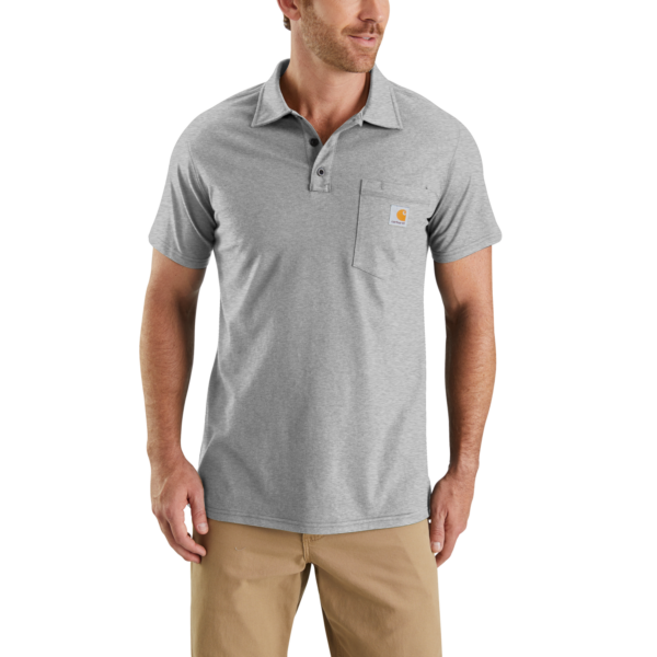 Carhartt - Force Cotton Delmont Pocket Polo