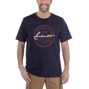 Carhartt - DETROIT BORN LOGO T-SHIRT S/S