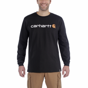 Carhartt - CORE LOGO T-SHIRT L/S