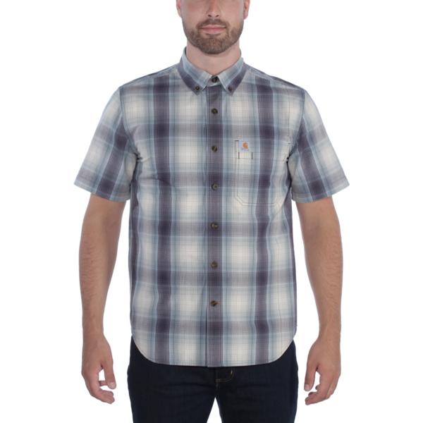 Carhartt - Essential Plaid Skjorte, Kortærmet, Herre