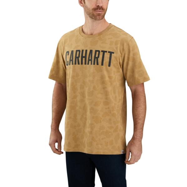 Carhartt - WORKWEAR CAMO BLOCK LOGO S/S T-SHIRT