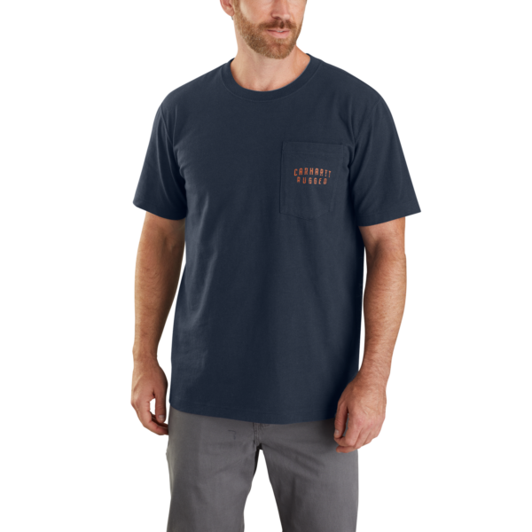 Carhartt - WORKWEAR BACK S/S GRAPHIC T-SHIRT