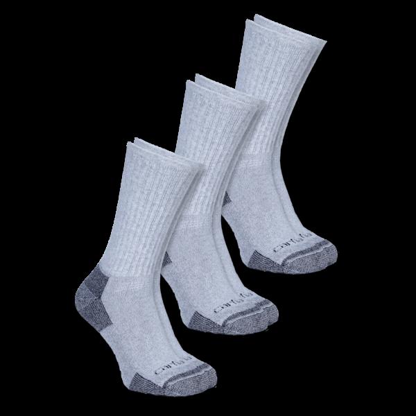 Carhartt - All-Season Cotton Sock 3-Pair