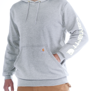 Carhartt - SLEEVE LOGO HOODED SWEATSHIRT