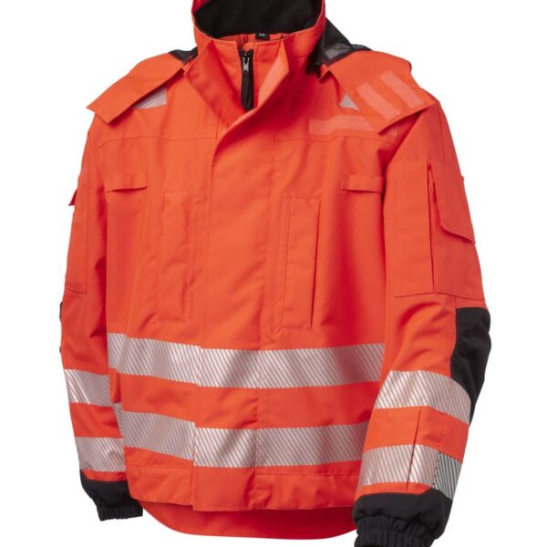 Viking Rubber - Jacket, Extreme Access, Hv-Red/Black, EN ISO 20471,3 As set