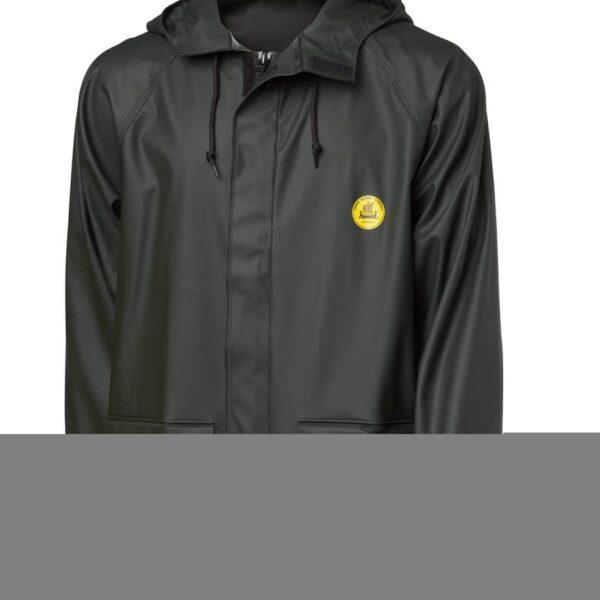 Viking Rubber - Rain Jacket w/Pockets, Flex, Green