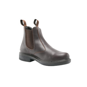 Steel Blue - Randwick elastic-sided pull-on boot Brown