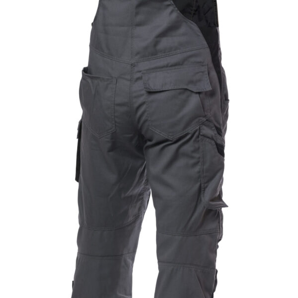 Viking Rubber - Bib trousers, EVOBASE, Dark Grey