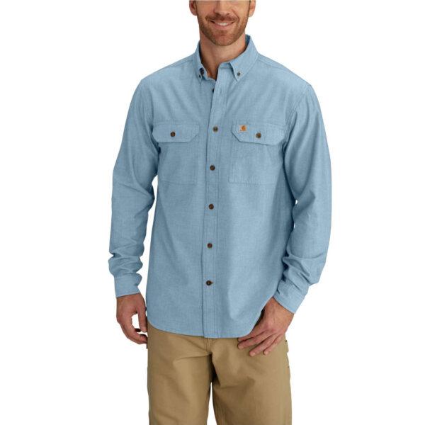 Carhartt - Skjorte Fort Solid Langærmet, Herre