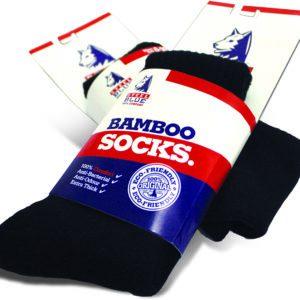Steel Blue - Socks 92% Bamboo