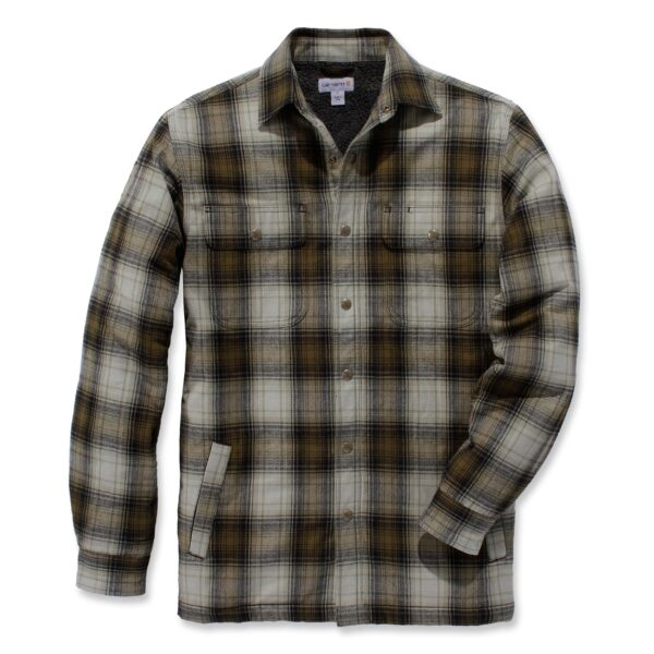 Carhartt - HUBBARD SHERPA LINED SHIRT JAC RELAXED FIT