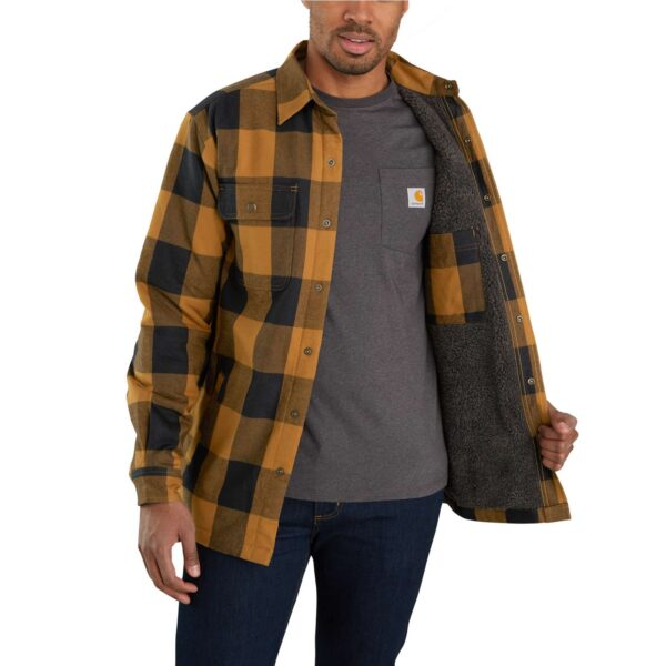 Carhartt - Hubbard Sherpa Lined Shirt Jakke