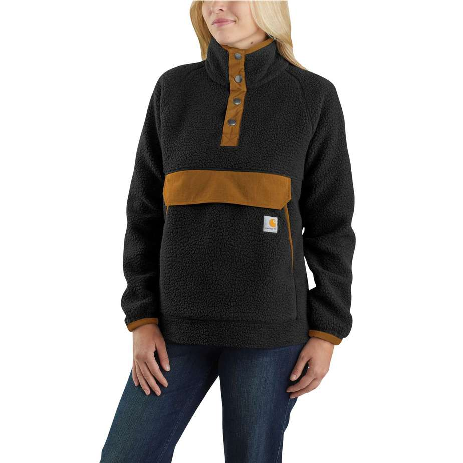 Carhartt - Relaxed Fit Fleece Pullover, Kvinde
