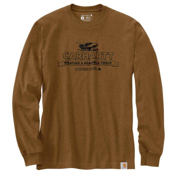 Carhartt - Super Dux Graphic Langærmet T-Shirt