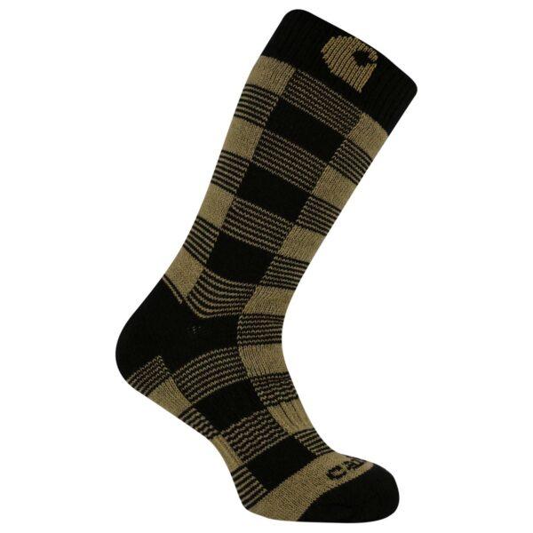 Carhartt - Thermal Plaid Crew Sock