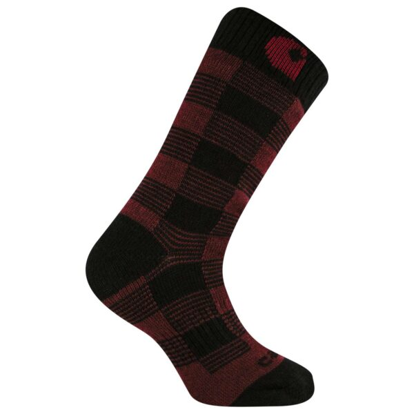 Carhartt - Termisk Plaid Crew Sock,